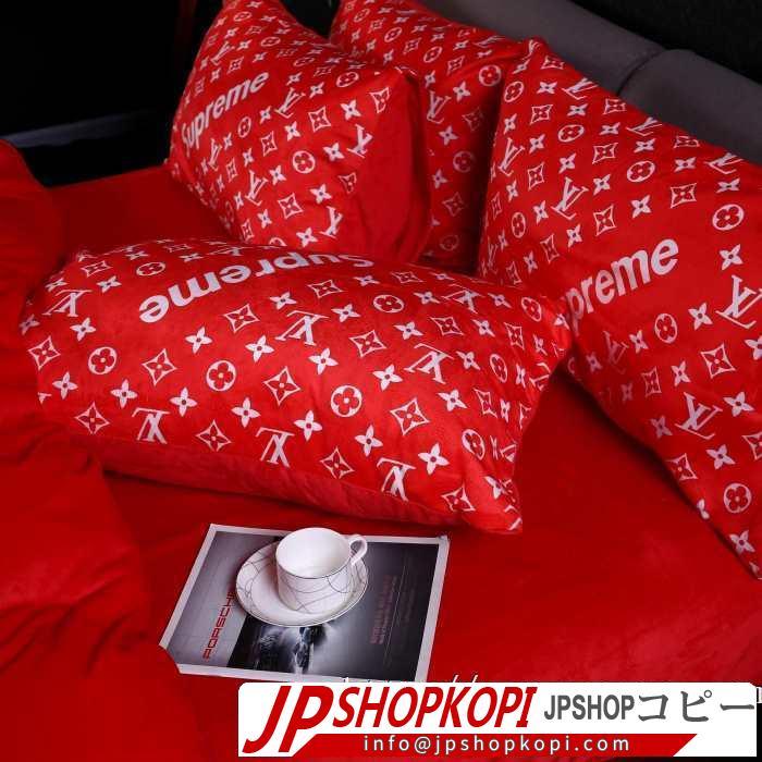 先取り 2019/2020秋冬ファッション シュプリーム SUPREME  寝具4点セット  秋にはやる最新作を先取り