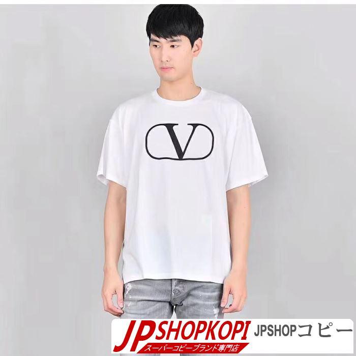 新作限定早い者勝ち 【2019春夏】最新コレクション Tシャツ/半袖ヴァレンティノ VALENTINO 2色可選