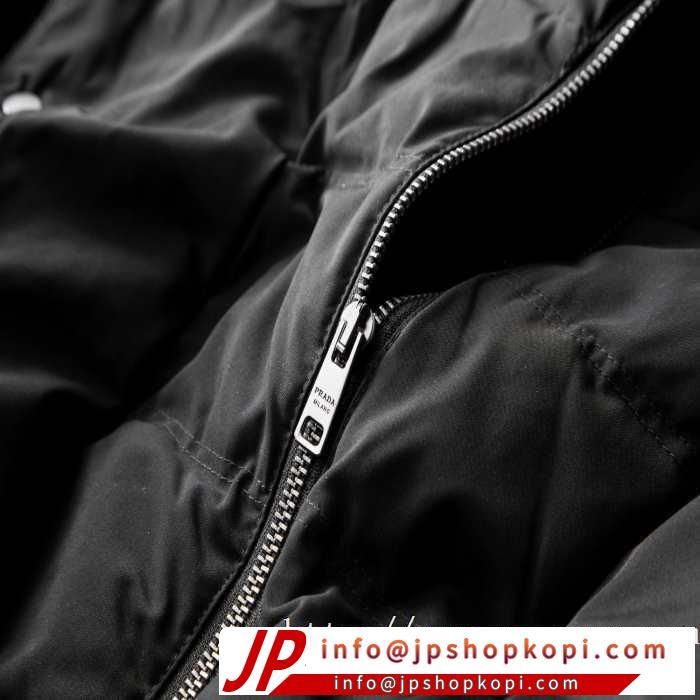 機能性が良くブランド新品 プラダ 使いやすさのトレンド PRADA 2色可選 メンズ ダウンジャケット 2019-2020秋冬のファッション
