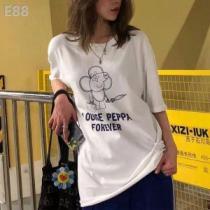 風通しのよい 2色可選 ルイ ヴィトン LOUIS VUITTON 2019年春夏流行ファッション Tシャツ/ティーシャツ