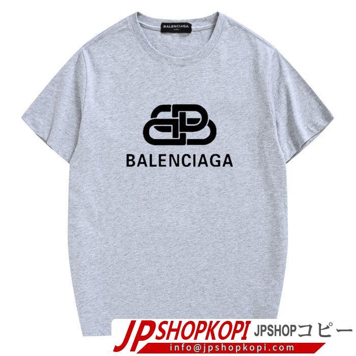 バレンシアガ BALENCIAGA 注目度が高まり最新コレクション2019春夏トレンドアイテム  多色可選 半袖Tシャツ 夏にぴったり上品